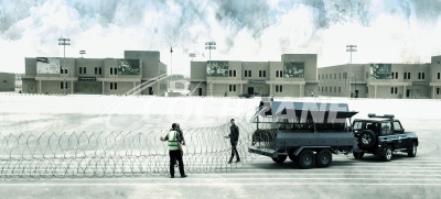 Cochrane Rapid Deployment Barrier